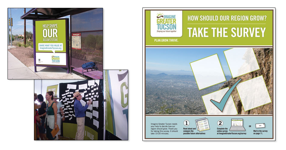 Imagine Greater Tucson - Branding & Advertisments