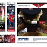 University of Arizona Athletics - Landing Page, Web Banners and Social Media