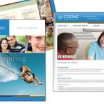 CODAC - Website & Brochure