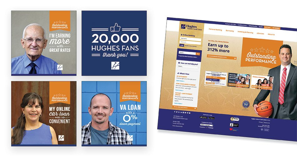 Hughes Federal Credit Union - Testimonials Campaign