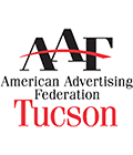 American Advertising Federation Tucson Chapter logo