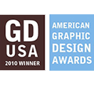 2010 Graphic Design USA Winner logo