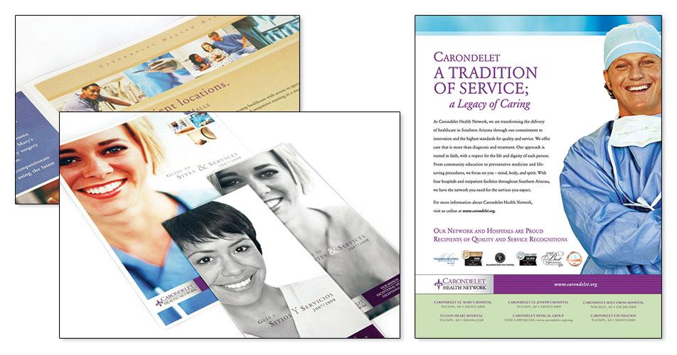 Carondelet Health Network - Poster & Brochures