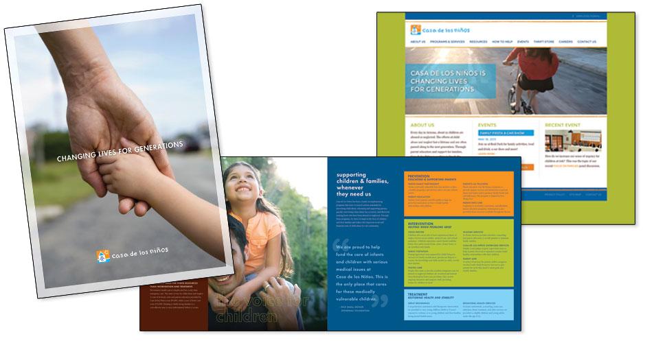 Casa de los Niños - Brochure & Website