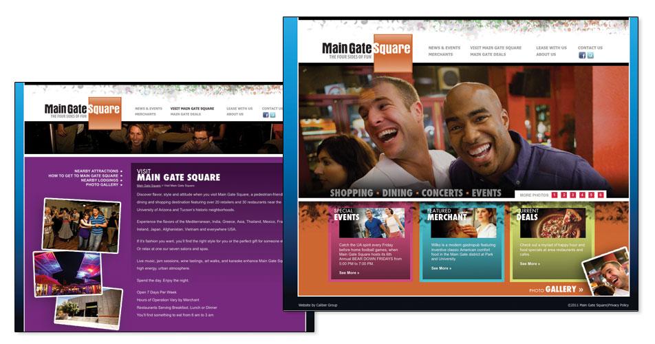 Main Gate Square Website