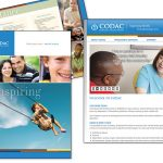 CODAC website, ads and collateral