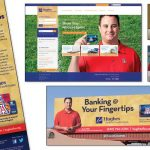 Hughes Federal Credit Union - Rack Card, Billboard, Website & Commercial